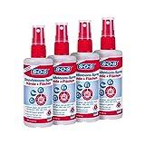 SOS Desinfektions-Spray 100 ml (4er Pack) - für Hände und Flächen