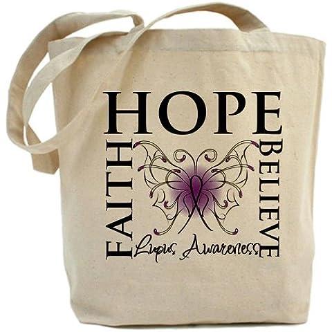CafePress Hope tatuaje de mariposa bolsa para herramientas de Lupus - estándar Multi-color