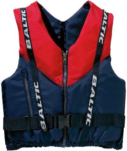 Baltic Genoa Front - Correa, tamaño L 70 - 90 kg, color azul marino / rojo
