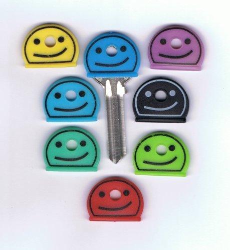 smiley-key-caps-pk-of-8