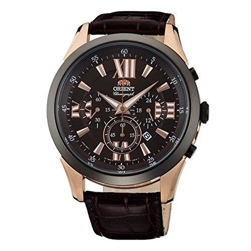 orient-herren-armbanduhr-44mm-armband-leder-schwarz-batterie-analog-ftw04004t0