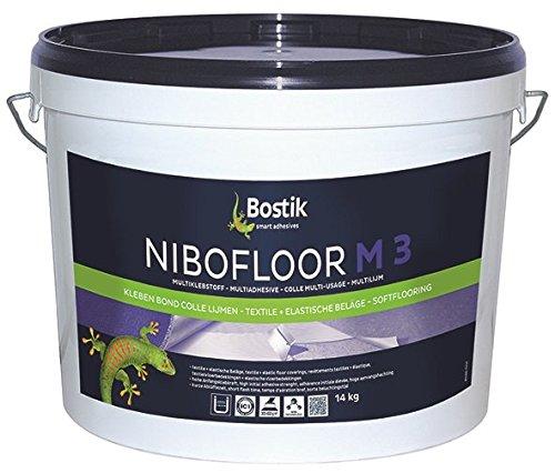 Bostik Nibofloor M 3 Multiklebstoff Bodenbelag Dispersionsklebstoff 22.0kg Eimer