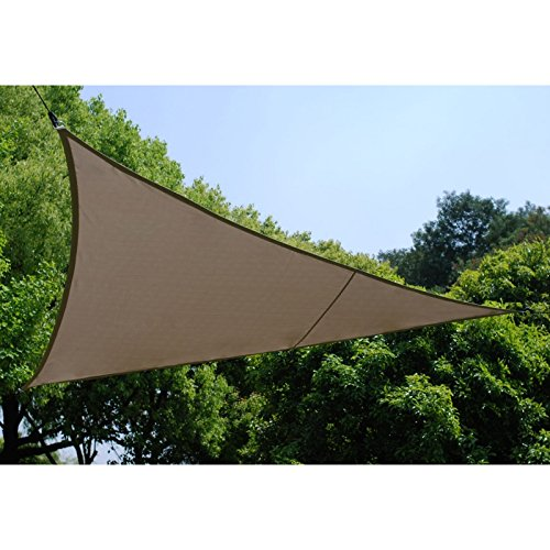 Voile d'ombrage Triangulaire (L3m) Curacao Taupe