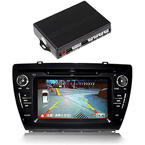 TOFOCO 4 sensori di parcheggio Video auto di sostegno di
