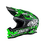 0583M-104 - Oneal 7 Series EVO Menace Motocross Helmet L Neon Green
