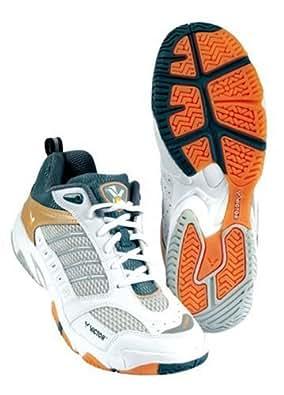 Victor V-8000 Matsui Plus 803/3/7, Chaussures de sports en salle femme - Blanc, 37 EU