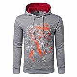 Luckycat Männer gedruckt Mantel Jacke Outwear Pullover Winter Slim Hoodie Langarm Mode 2018