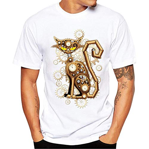 Unisex Patrón 3D Impreso Camisetas JiaMeng Camiseta Estampada Camiseta Manga Corta Camiseta Blusa de Colores Personalizada Casual tee Shirt