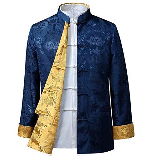 BOZEVON Männer/Frauen Chinesische Tang-Anzug Oberseiten - Beide