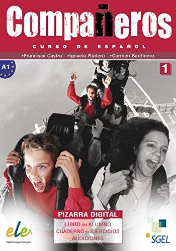 Compañeros 1: Curso de español / DVD-ROM mit Materialien für PC und Whiteboard