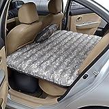 LQBZ TT materasso ad aria auto auto dopo materasso Oxford fiori di stoffa e caricabatteria per auto cuscino di bambù