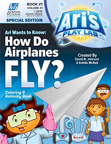 Ari's Play Lab #01 - Airplanes (English Edition)