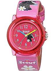SCOUT Uhren Mädchen-Armbanduhr Analog Quarz Kunstleder 280305020