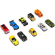 Fast Lane 10-Piece Die cast vehicle pack- Colors/Styles May Vary by