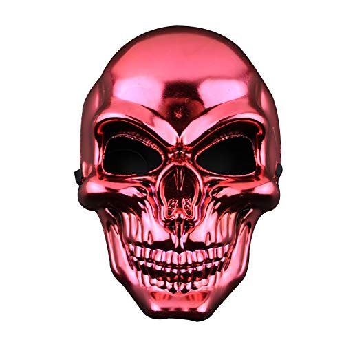 Fun Holi-day Supplies Halloween Schädel Maske Seltsam Unfug Cosplay Maskerade,Red