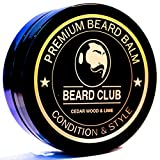 Premium Beard Balm | Mountain Woodsman | The Best Beard Conditioner & Softener to Shape & Style your Beard, While Stopping Beard Itch & Flakes | Natural & Organic | Great for Hair Care & Growth (Cedar Wood & Lime)
