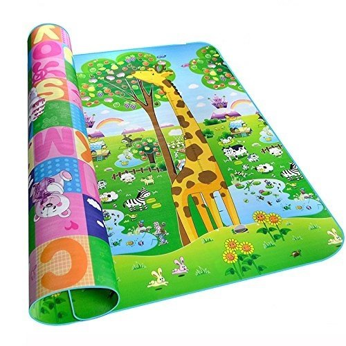 Inovera Kids & Baby Playing Crawl Floor Mat Water Resistant Large(graphics may vary as per availability) (120 cm x 90 cm)