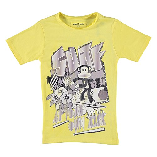 Paul Frank Jungen T-Shirts-kurzärmlig - 116 (Kinder Paul Frank T-shirt)