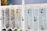 KAMACA Bistrogardine Küchengardine mit Stangendurchzug