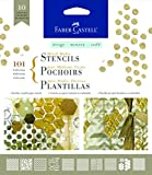 Faber-Castell Design Memory Craft Stencils, 101 Collection
