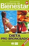DIETA PRO BRONCEADO - Para potenciar el color de la piel (Instante de BIENESTAR - Colección Dietas nº 21)