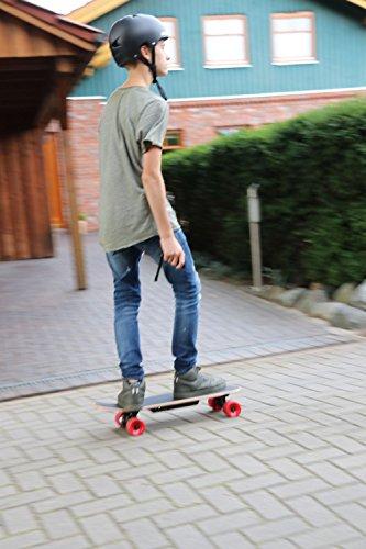 Gesutra Elektro-Skateboard - schwarz -