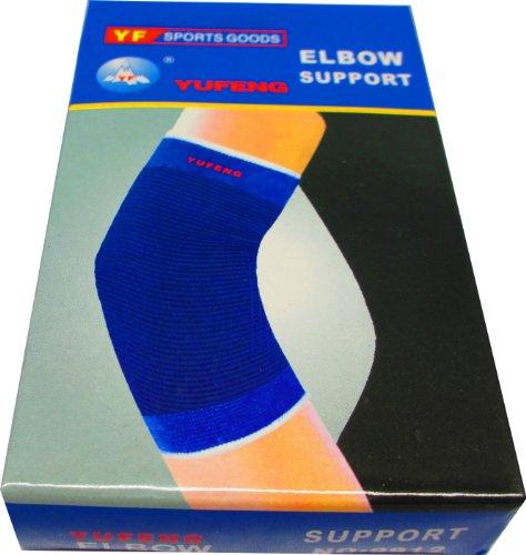 Elastische Ellenbogenbandage - Ideal für Alltag und Sport (Uni)