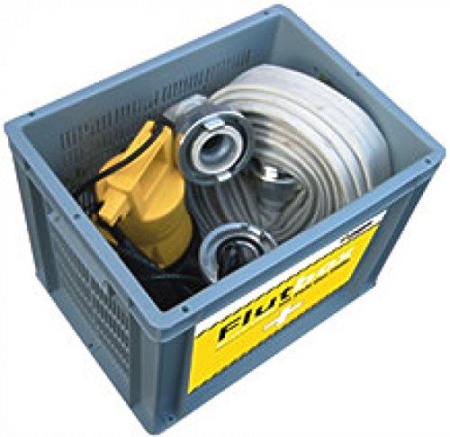 Preisvergleich Produktbild Jung Flutbox Kellerentwässerung mit U5KS Pumpe & 12,5 m C-Schlauch