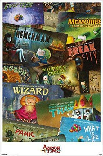 1art1-66306-Adventure-Time-Abenteuerzeit-Episoden-Poster-91-x-61-cm