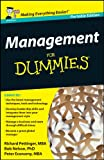 Management for Dummies UK Edition Whs Tr
