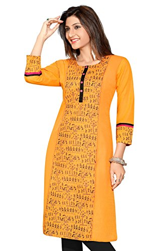 Exclusive Yellow cotton Kurta For Women, Cotton Kurtis For Girls, Kurtis,Latest Kurtis...