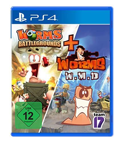 Worms Battlegrounds + W.M.D - [PlayStation 4]