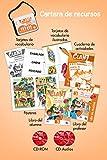 Clan 7 con Hola, amigos! Nivel 3 : 3 volumes + cartes (2Cédérom + 2 CD audio)