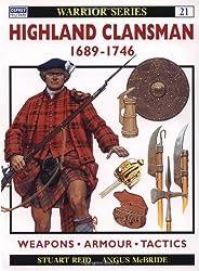 Highland Clansman 1689-1746 (Warrior, Band 21)