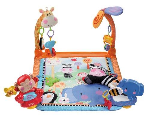 Imagen 1 de Fisher-Price - W2620  - Gimnasio abierto para animales [Importado de Alemania] (Mattel)