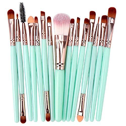 SHUIZAI Eye shadow brush Schminkbürste, Lidschatten, Kopfschuppen, Wimpern, Lippenmaterial, Make -up und Schönheit Der Grüne konsumgüter