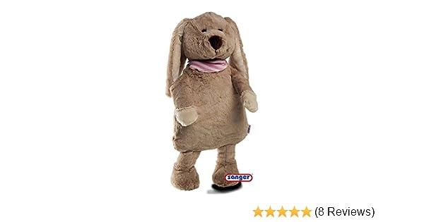 Wärmetier Teddy Bär gold Teddybär Kuscheltier Wärmflasche Plüschtier Stofftier