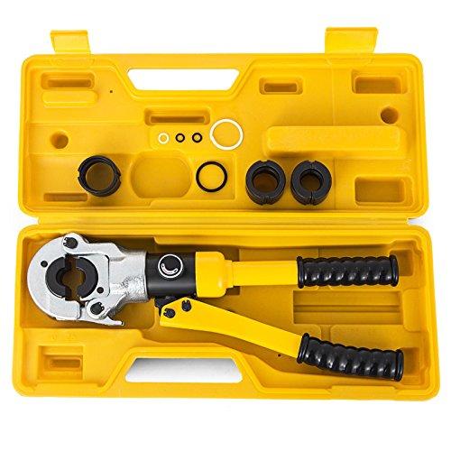 PhenixGa Pinces à Sertir THU16-32mm / 16-32 mm Pince De Main Câble Avec Une Tête Rotative à 360 °Pince De Sertissage Outil De Sertissage (16-32 mm)