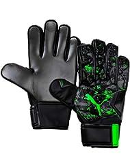 Puma Future Grip 19.4 Guantes De Portero, Hombre, Black/Charcoal Gray/Green Gecko, 9