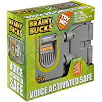 Slinky Brainy Bucks Voice Activated Safe Toy Set, Multi-Colour, 10.92 x 24.13 x 22.86 cm
