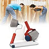 CONNECTWIDE® Paint Roller Brush Runner Wall Painting Tool Kit- 6 PCS/Set-Painting Accessories Home Use Tools Pintar Facil Handle - No Prep, No Mess. Simply Pour and Paint to Transform Any Room In Just Minutes.