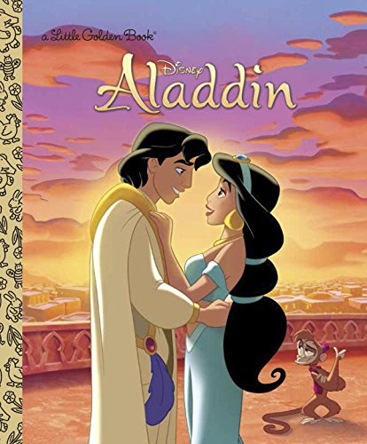 Aladdin (Disney Aladdin) (Little Golden Books)