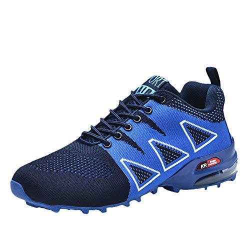 Holeider Schuhe Wanderschuhe Herren Sneaker Rutschfest Trekkingschuhe Bergschuhe Hikingschuhe Sicherheitsschuhe Arbeitsschuhe Atmungsaktiv Freizeitschuhe für Männer Mode