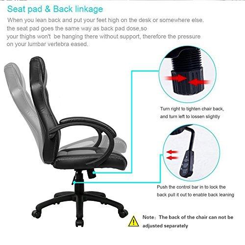 Marvelous Gaming Chair Intimate Wm Heart High Back Office Chair Desk Short Links Chair Design For Home Short Linksinfo