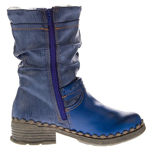 Tama Tma - Blau Bottes Pour Femmes