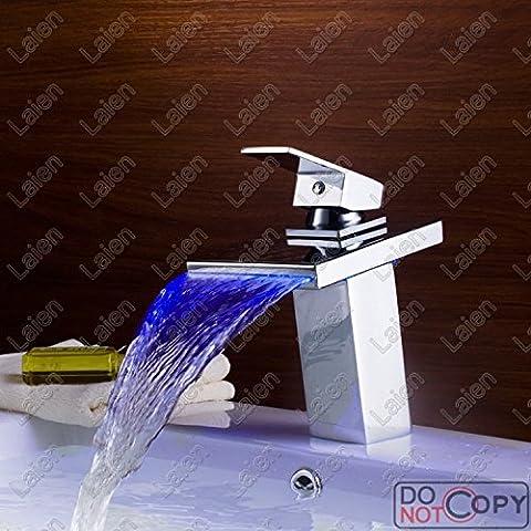 Luxury classic rame tre led di controllo della temperatura del