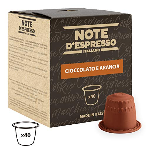 Note D\'Espresso Kapseln Orange Chocolate, 7g x 40 Kapseln