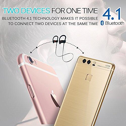 Cuffie-Bluetooth-Auricolari-Wireless-POOPHUNS-Auricolari-Sportivi-Wireless-Stereo-41V9-Auricolare-In-Ear-aptX-6-8-ore-di-Riproduzione-Microfono-Incorporato-A2DP-Hands-stereo-sport-impermeabili-Auricol