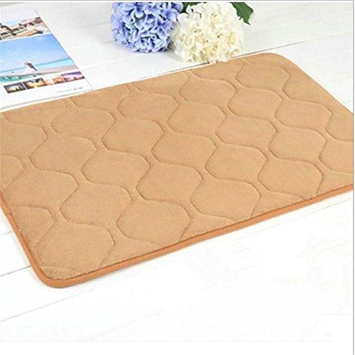 New day-Memoria cotone Tappeto corallo del panno morbido tappeto del salotto camera da letto comodino insonorizzate Carpet , khaki , 120*160cm thickening