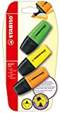 STABILO-bOSS mINI-lot de 3-jaune/vert/orange-surligneur - 5 pièces